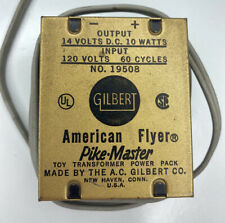 E Vintage GILBERT American Flyer Pike-Master Transformer Power Pack No.19508