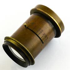 Brass Barrel Lens f8