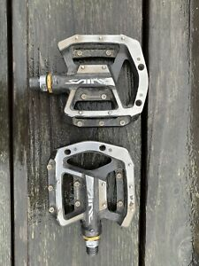 Shimano Saint Mountain Bike Pedals with a set of New Pins still in package