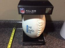 NFL Super Bowl 52 Authentic Game Football Inscribed 2018 New w/ Tee LII