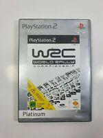 World Rally Championship WRC - PS2 - Sony Playstation 2 - W/ MANUAL - PAL