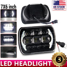 DOT 7x6 5X7 Halo LED Headlight For Chevy Express Cargo Van 1500 2500 3500 Truck