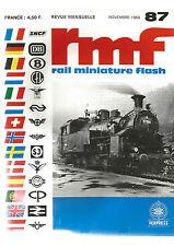 "RMF N°87 PICCOLO FLEISCHMANN / 141 R JOUEF / VOITURES-SALONS ""SUD-EXPRESS"""
