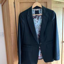 Ted Baker~Women  Black 2 piece suit~Size3 UK12~ Blazer Trouser