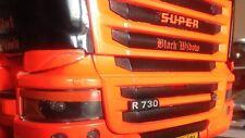 Scania Böser Blick Aufkleber NewR Front  Weiß,Schwarz,Rot&Blau Tamiya Truck 1:14