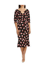 NEW Leona by Leona Edmiston Graphic Rose Smock Top Dress Assorted