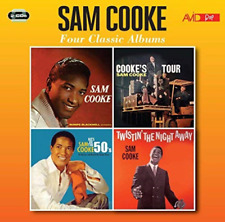 SAM COOKE-FOUR CLASSIC ALBUMS (SAM COOKE / COOKE`S TOUR / HI (UK IMPORT)  CD NEW