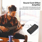 Guitar Headphone Amplifier Chargeable H8 Guitar Headphone Sound Card Amp Durable for sale
