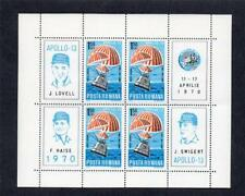 ROMANIA MNH 1970 SG3743 AIR - SPACE FLIGHT OF APOLLO 13