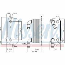Ölkühler, Motoröl Nissens Opel: Vectra C, Signum Z03 | Saab: 43533 YS3F