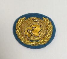 UN Beret Badge, United Nations, Embroidered, Cap, Headwear, Military, Army