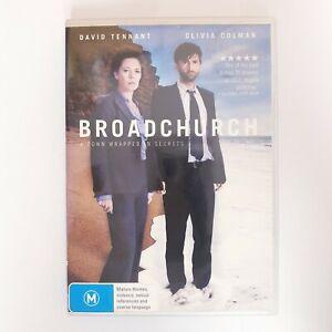 Broadchurch Season 1 DVD TV Series Free Postage Region 4 AUS - Drama Mystery