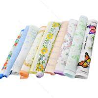 Women Ladies Child #S Cotton Flower Vintage Lot Handkerchiefs Quadrate Hankies