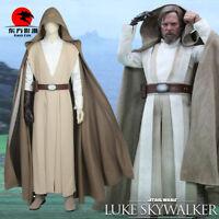 DFYM Star Wars The Last Jedi Luke Skywalker Cosplay Costume Deluxe Outfit