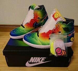 Nike x J Balvin Air Jordan 1 High Rainbow DC3481-900 US 7 - 14 from JP Authentic