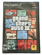 New listing Grand Theft Auto Iii (Playstation 2, Ps2) - New Sealed