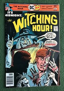 Witching Hour #66 DC Comics Bronze Age Mystery Ghosts Unexpected Secrets vg