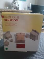 Dolls House Furniture Bedroom Set New Boxed