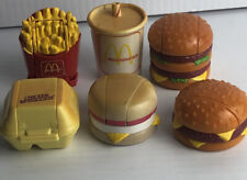 Lot 6 Vintage 1987  McDonalds Happy Meal Toys Changeables