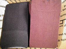 Trouser Socks REGULAR  LOT OF 30 PAIRS  Size 9-11  BLACK and BROWN