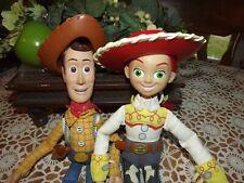 Disney Pixar Toy Story Talking Woody & Jessie Pull String Dolls