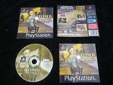 JEU Sony PLAYSTATION PS1 / PS2 : TOMB RAIDER LA REVELATION FINALE (Lara Croft)