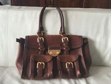 PRADA Leather Satchel Bags & Handbags for Women