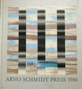 Arno Schmidt Preis 1986 für Peter Rühmkorf signiert