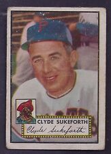 1952 Topps #364 Clyde Sukeforth Pittsburgh Pirates (High Number) Good Plus to VG