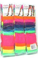 1 PAIR ANGELINA RAINBOW THIGH HIGH SIZE ONE SIZE  6753A