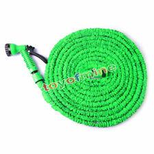 Expandable Flexible Garden Water Hose Pipe Spray Gun Nozzle 50FT 75FT 100FT US