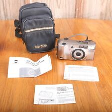 Minolta Freedom Super Action Zoom Date 35mm Camera 105EX Untested PARTS ONLY
