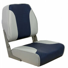 Springfield Economy Multi-Color Folding Seat - Grey/Blue 1040651