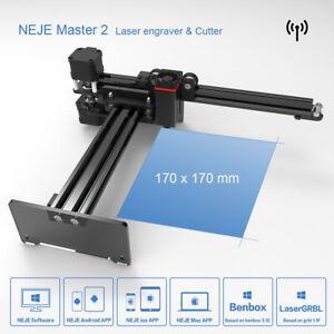 NEJE Master 2 20W Laser Graviermaschine GBRL Cutter Laserengraver Drucker APP PC