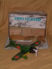 RARE, VINTAGE, NOS, LEADWORKS ITEM NO. 39901, TIN ZERO FIGHTER NEW IN BOX! NICE!