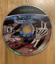 Dakar 2: The World's Ultimate Rally (Original Xbox, 2003) Video Game Disc Only
