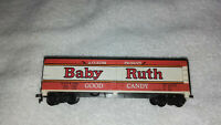 "HO Scale ""Baby Ruth""  Reefer Freight Train Box Car NADX 5342"