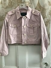 NWT NEW  J. CREW DUSTY PINK COTTON SEMI CROPPED JACKET SIZE SMALL