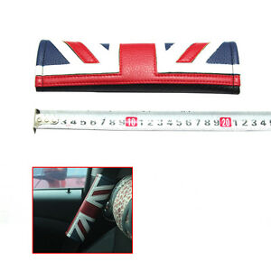 Union Jack Car Safety Seat Belt Cover Shoulder Cushion Pad For MINI COOPER