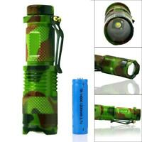 Zoomable 20000LM X T6 LED Tactical Torch Police Focus BG