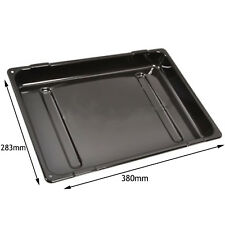 CANNON Genuine Oven Cooker Grill Pan Tray Base 380 x 283 x 65 mm Black
