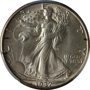 1937-D Walking Liberty Half PCGS MS65 Nice Eye Appeal Nice Luster Nice Strike