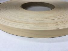 "birch prefinished pre glued 7/8""x25' wood veneer edgebanding"