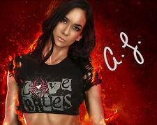 AJ Lee #1 (WWE) - 10X8 pre Impreso de impresión fotográfica de calidad de laboratorio