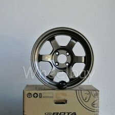 4 ROTA WHEEL GRID V 15X7 +20  4X100 BRZ MIATA CIVIC  INTEGRA LAST SET