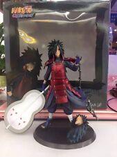 """Naruto Shippuden Uchiha Madara Ninja 1/10 PVC Figure 18.5cm/7"""" New in Box"""