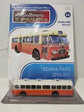 IXO IST SCANIA VABIS CF76 D11 Kultowe Autobusy PRL-u 1:72 no.26 polish bus
