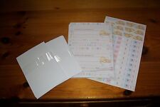 Forever Friends 20X New Baby Cards + Envelopes/Die Cut Sheet New