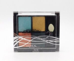 L'Oreal Project Runway Limited Edition Pressed Eyeshadow Quad 716 The Muse's Gaz