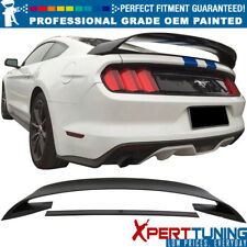 Fit 15-18 Mustang Coupe GT350 GT350R Painted Trunk Spoiler - OEM Painted Color
